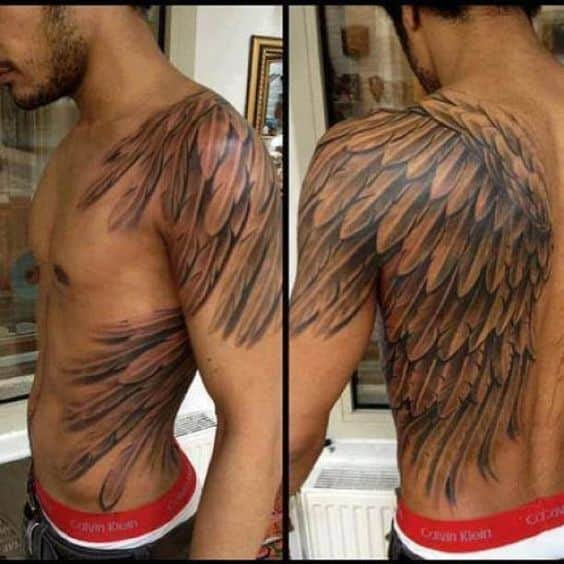 Angel Wing Tattoos For Men Ideas And Inspiration For Guys