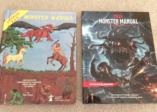 A Tale of Two Monster Manuals — 1977 AD&D and 2014 5e D&D - GeekDad