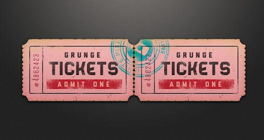 Ticket Coupon Sale Tag Psd | Miscellaneous | Pixeden