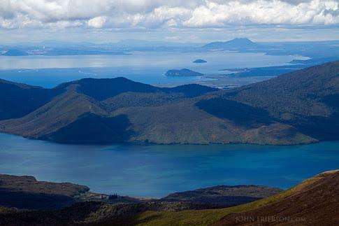 Lake Rotoaira & Lake Taupo, New Zealand