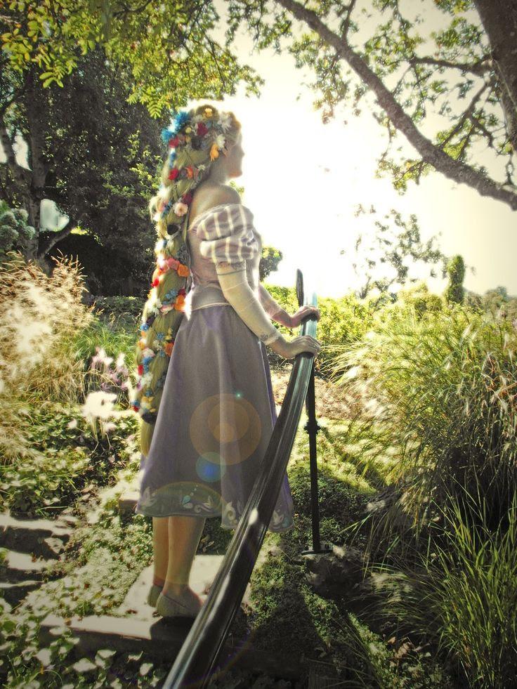 Rapunzel dress walkthrough