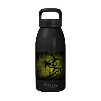 Bio-Hazard Bottle Unique Retro Look Water Bottles