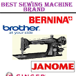 4 Best Sewing Machine Brand plus Top Sewing Machine Picks