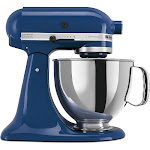 KitchenAid Artisan KSM150PSBW 5-Quart Mixer - Blue Willow - 325W