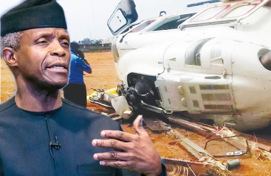 Osinbajo Gives Testimony In Church After Surviving Helicopter Crash (Video) | jhamees9ja blog
