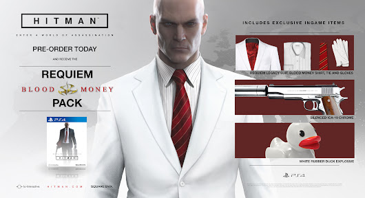 First PS4-exclusive Hitman contract is called The Director