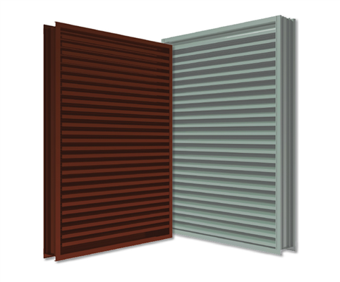 New AMCA 540 (Enhanced) Wind-Driven Rain Louver Models