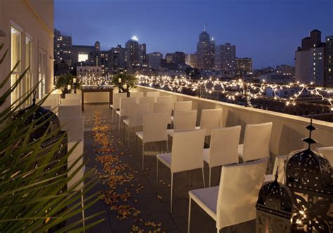 hotel adagio rooftop wedding venue