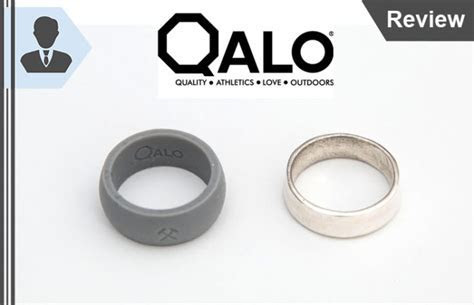 Qalo Review   Convenient Durable Silicone Wedding Rings?