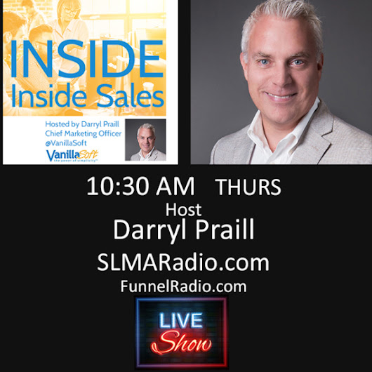 Darryl Praill Launches 'Inside Inside Sales'