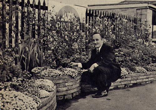 Pinner London Underground Station Garden Winner 1966