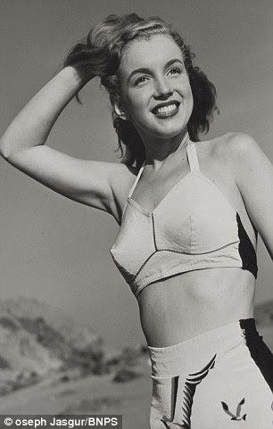 Fazendo ondas: O jovem Marilyn foi rapidamente abocanhado pela indústria e chegou ao estrelato