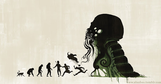 Counter-Evolution: Lovecraft and the Uncanny Horror of Darwinism