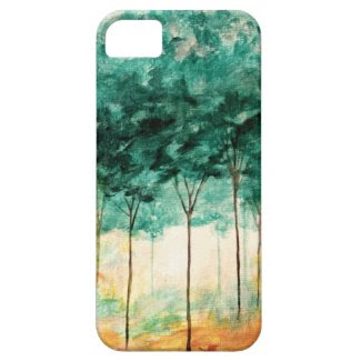 Abstract Landscape Art Trees Forest Painting iPhone 5 Cover