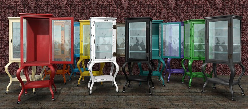 apothecary cabinet rainbow