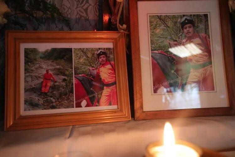 José Antonio Castillo é um dos bombeiros desaparecidos no lugar da tragédia pelo Volcán de Fuego.  (Foto da imprensa livre: Stuart Paredes)