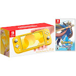 Nintendo Switch Lite Yellow Bundle with Pok?mon Sword NS Game Disc - 2019 New Game!