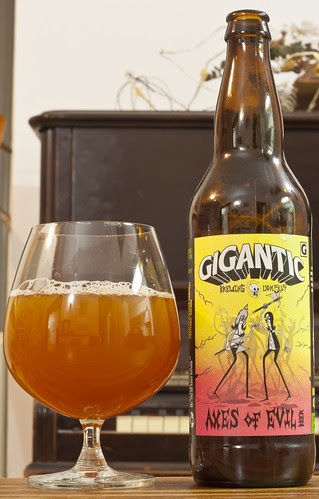 Gigantic Brewing Axes of Evil 18/24 by Cody La Bière