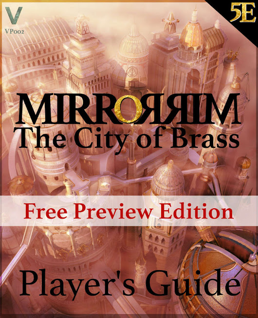 Player's Guide to Mirrorrim - Free Preview Edition (5E)