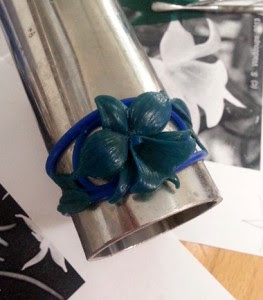 orchid wax ring mold