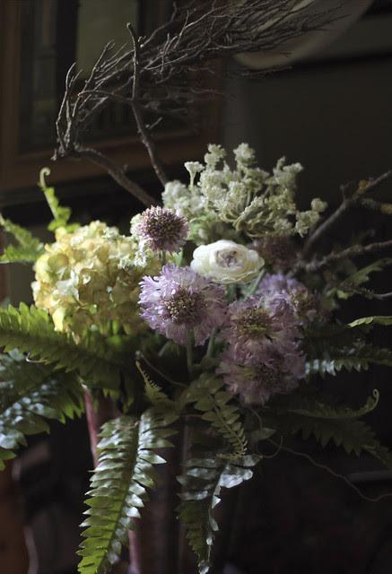 Artificial flowers arrangement - the 3rd lot