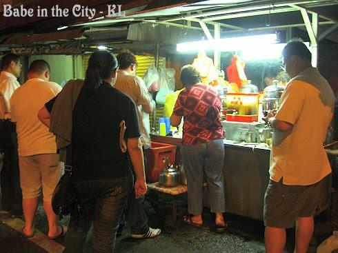 Leung Char (herbal drinks) Stall
