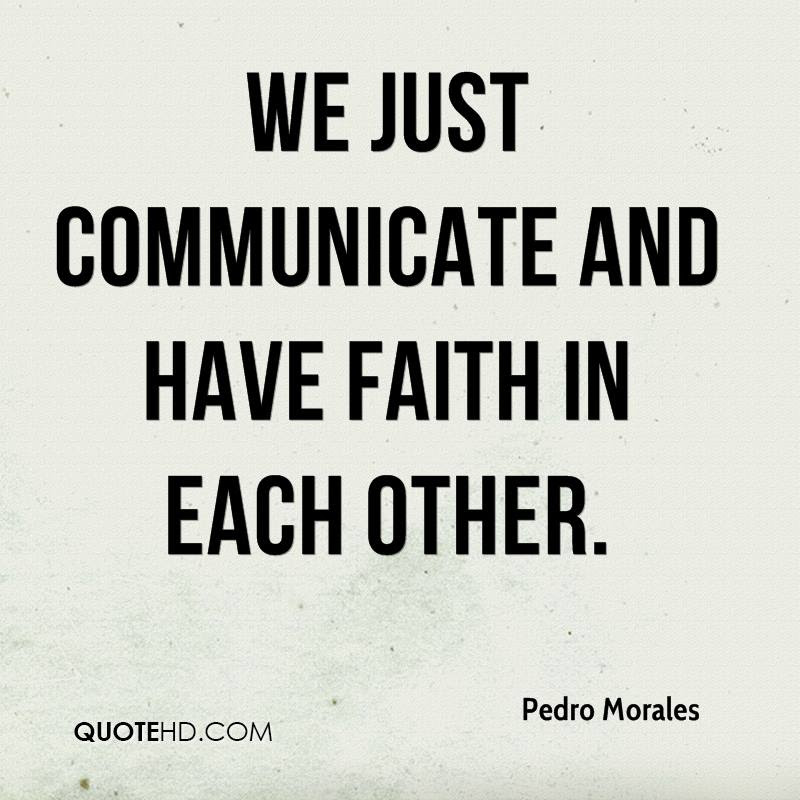 Pedro Morales Faith Quotes Quotehd