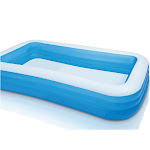 Intex Inflatable Swim Center Family Lounge Pool, Blue