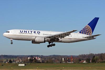 United Airlines Boeing 767-224 ER N73152 (msn 30431) ZRH (Andi Hiltl). Image: 911799.