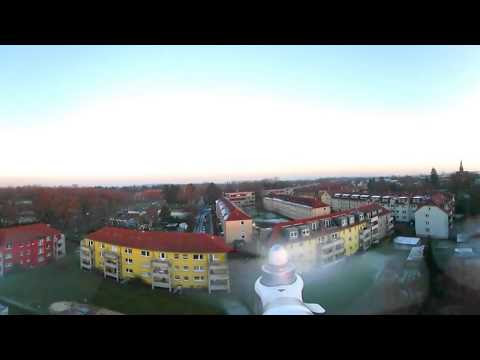 Test!! 360° Video/Samsung Gear 360 mount on Phantom 3 pro / 4K
