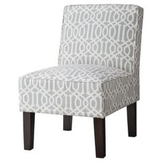 Threshold™ Slipper Chair - Gray Lattice
