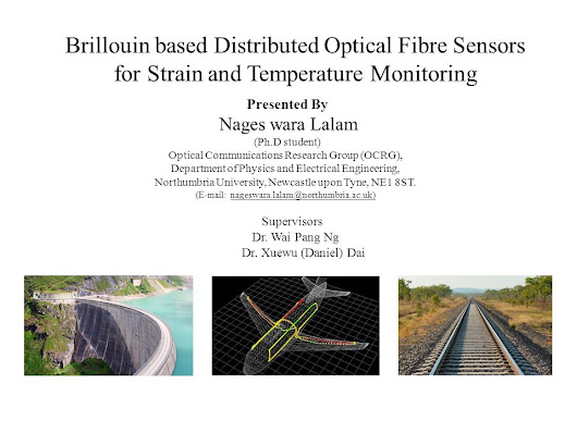 Brillouin based Distributed Optical Fibre Sensors for Strain and Temperature Monitoring Presented By Nages wara Lalam (Ph.D student) Optical Communications. -  ppt download