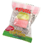 US Toy CA584 60 Piece Gummi Cupcakes - Pack of 60