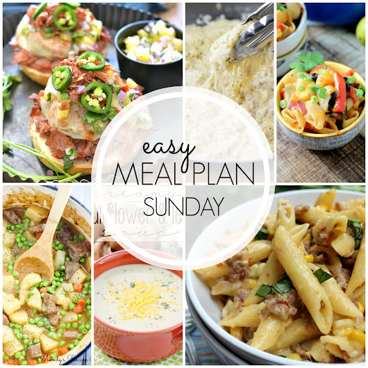Easy Meal Plan Sunday #40 | Mandy's Recipe Box