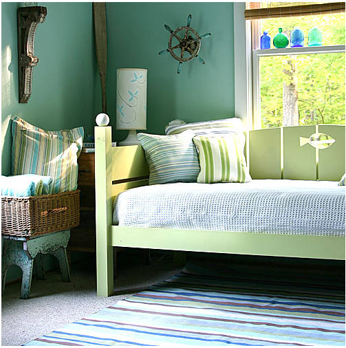 Wall Color Selection #1: Special Effects of Blue and Green ...