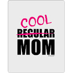 Not A Regular Mom Design Aluminum Dry Erase Board by TooLoud