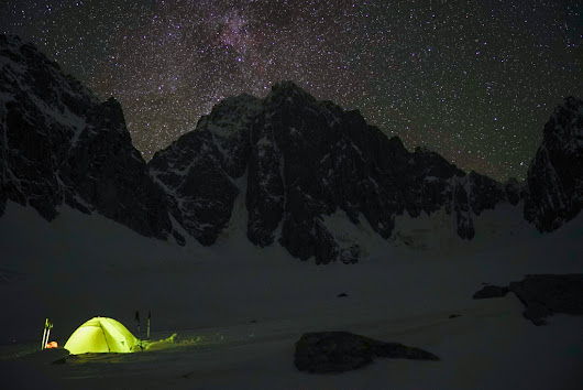 The Bird Blog - Arc'teryx  Lost In China: Ines Papert and Luka Lindič On Kyzyl Asker