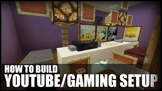 How To Make A YouTube Setup In Minecraft - YouTube