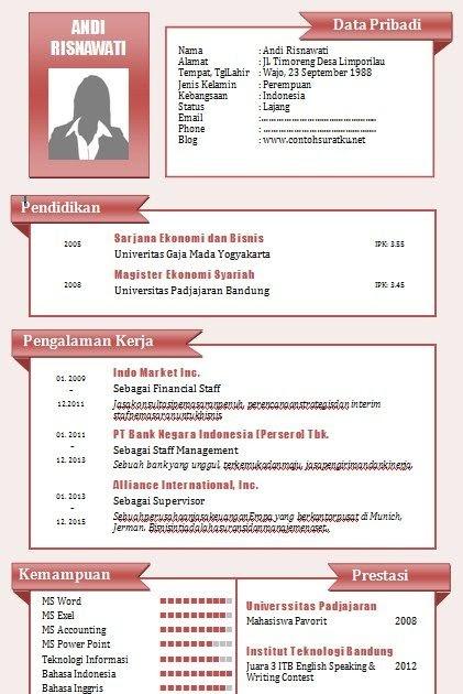 Contoh Biodata Diri Pelajar Sekolah Rendah Contoh Yuk Download