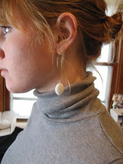 earrings made by me
