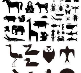 8300 Gambar Siluet Binatang Lucu HD