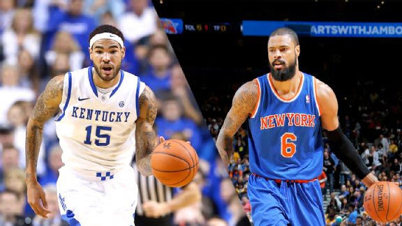 Willie Cauley-Stein, Tyson Chandler