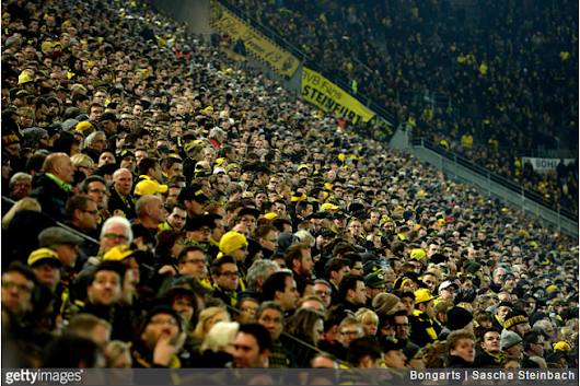 Borussia Dortmund: 81,000 Fans Fall Eerily Silent After Fellow Supporter Suffers Fatal Heart Attack During Mainz Game (Photos & Video) | Who Ate All The Pies