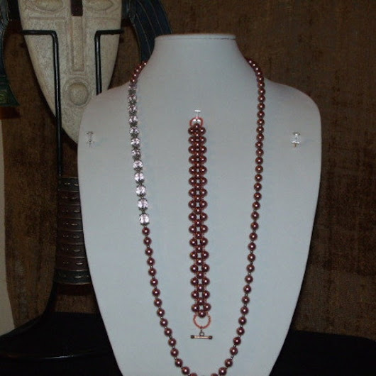This type of necklace set you can wear them by OCJewelryDesign