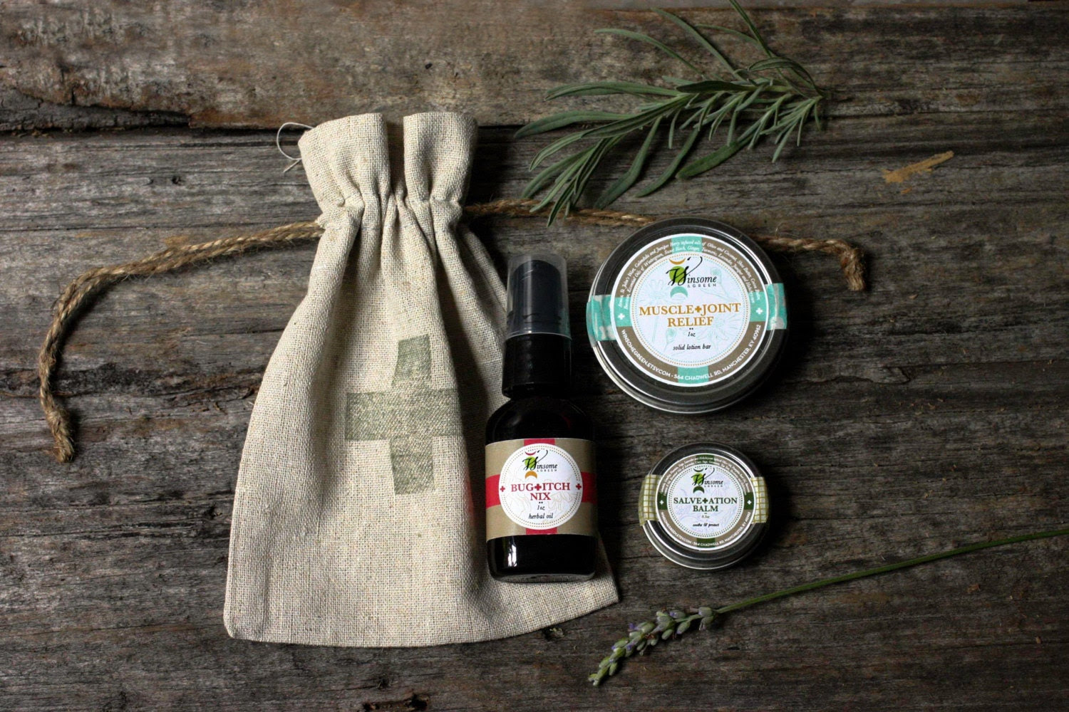Outdoors Survival Kit / GIft for Him / Hunger Games / Under 25 / cyber monday / theteam, cabin, camping, rustic, swiss cross, skincare - WinsomeGreen