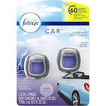 Febreze Vent Clip Car Air Freshener, Midnight Storm - 2 pack