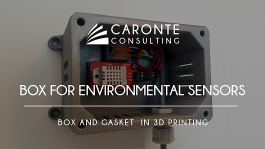 Box for environmental sensors - Caronte Consulting