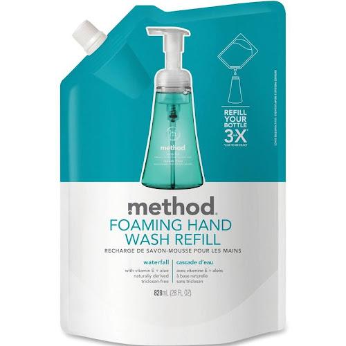 Method Foaming Hand Soap Refill Waterfall - 28 oz pouch