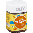 Olly Kids Happy Tummy Vitamin Gummies, Just Peachy - 30 count