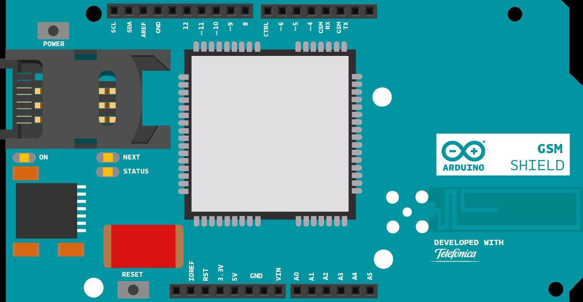 Arduino en español test gprs gsm